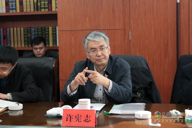 一汽解放汽车有限公司首席顾问许宪志先生