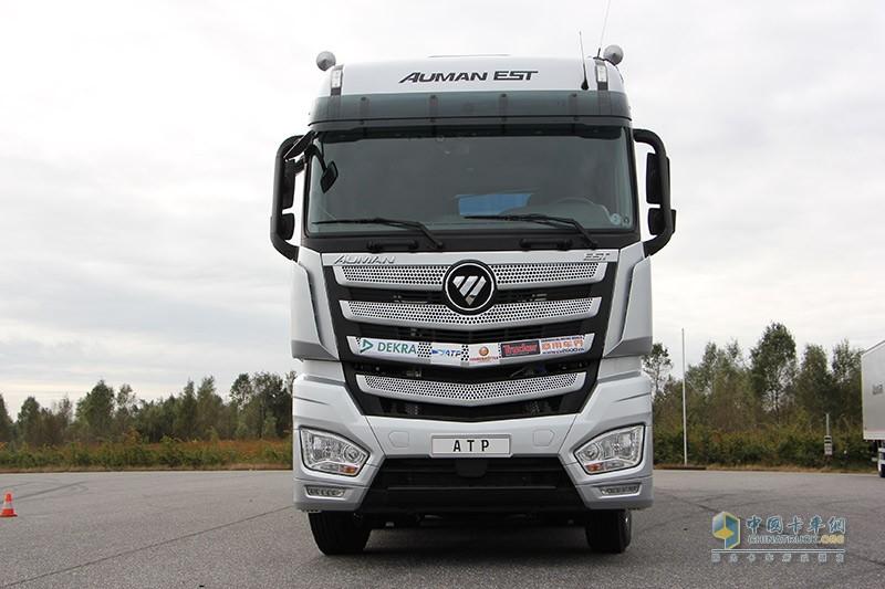 欧曼est超级卡车经欧洲测试图片