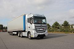 欧曼EST超级卡车经欧洲测试