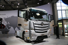 欧曼EST超级卡车:源于欧洲 登录中国