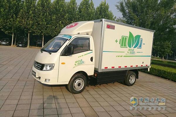 福田时代新能源车-最后一公里两会热议 卡车和物流企业献计献策高清图片