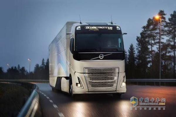 沃尔沃最新概念车辆对长途运输的混合动力传动系统进行测试