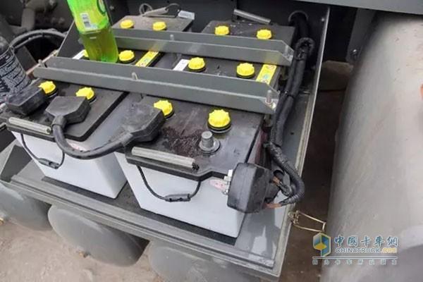 蓄电池检查
