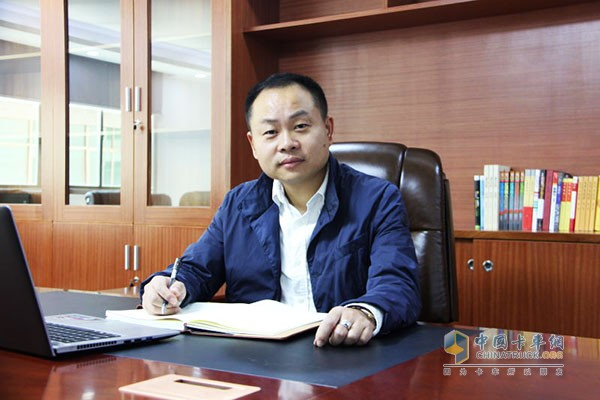 广州福邦物流有限公司总经理徐浩翔