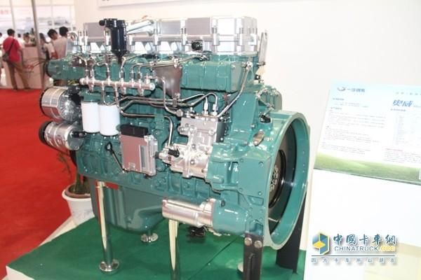 锡柴高压共轨燃油系统