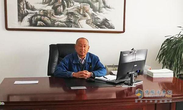 志杨物流有限公司总经理王志斌