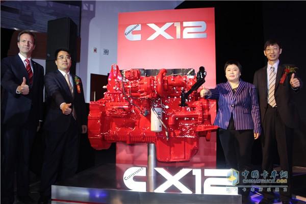 超级卡车的动力基因 康明斯X12发动机正式登陆中国