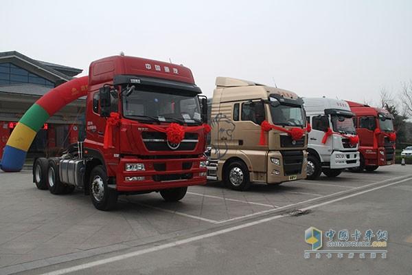 中国重汽斯太尔、汕德卡车型