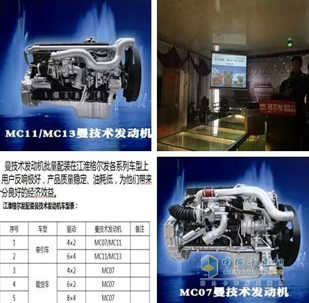 重汽MC系列发动机