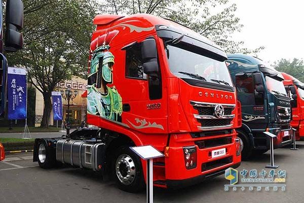 红岩杰狮500系列产品