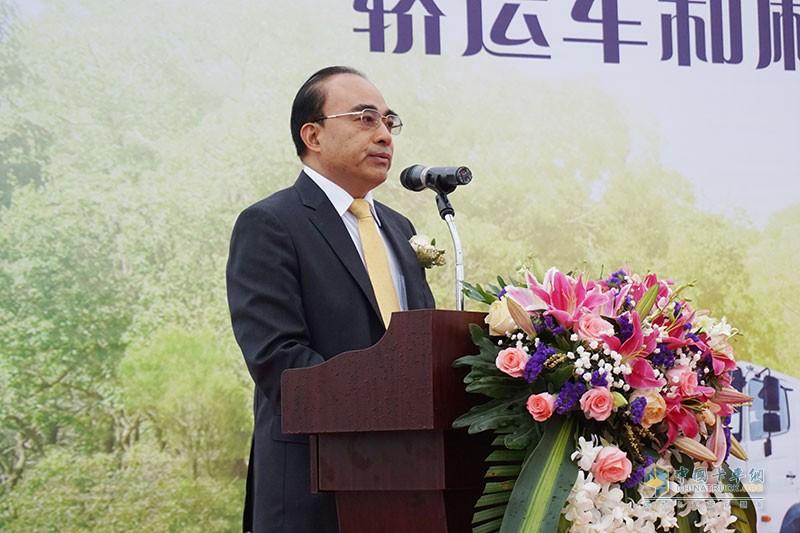 广汽日野执行副总经理陈秀深致辞
