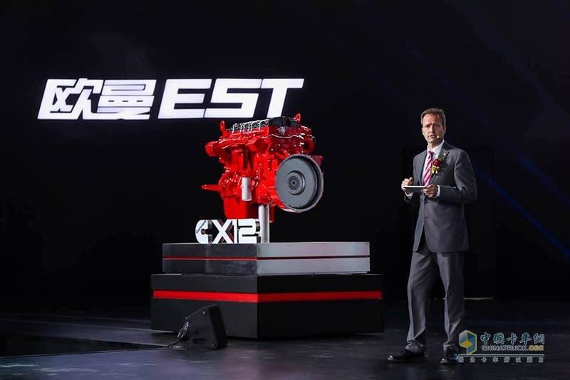 康明斯发动机制造技术专家兼福田康明斯工厂厂长Mr.Miguel Kindler
