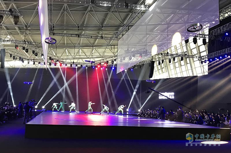 无人机的科技炫场表演