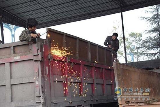 河南五部门开展货车非法改装专项整治行动