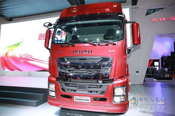 庆铃五十铃全新一代重型车——GIGA巨咖正式发布