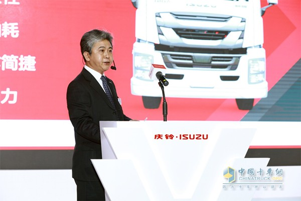 庆铃汽车(集团)有限公司副总经理 李巨星先生解读GIGA巨咖特点