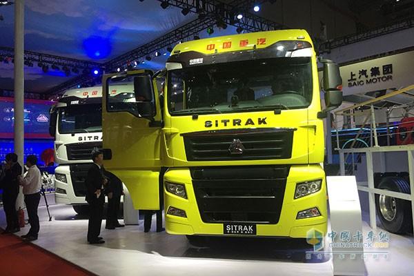 汕德卡C7H 6×4智能卡车