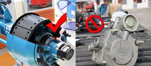 往往忽视了刹车片的优劣更影响刹车性能。假冒的的BPW车桥刹车片,达不到原厂片的摩擦力的40%,制动过热并且刹车毂提前报废。刹车片的铆接,需要专用的设备进行,人力铆接或者用螺栓固定,容易松动。
