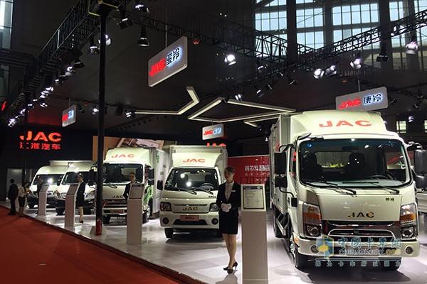江淮全能卡车战略在上海车展重磅发布