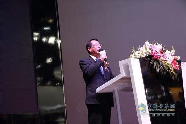 福田商用汽车集团副总裁,福田商用汽车集团轻型商用车业务总监赵建民先生致辞