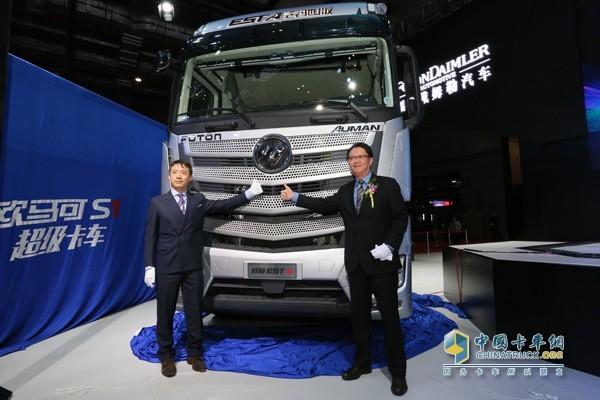欧曼EST-A奔驰版超级卡车