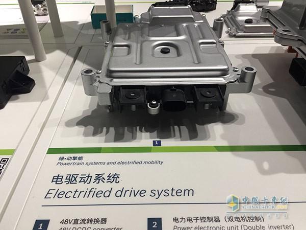 博世电驱动技术产品