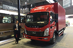上海车展,四川现代多样产品共同登场