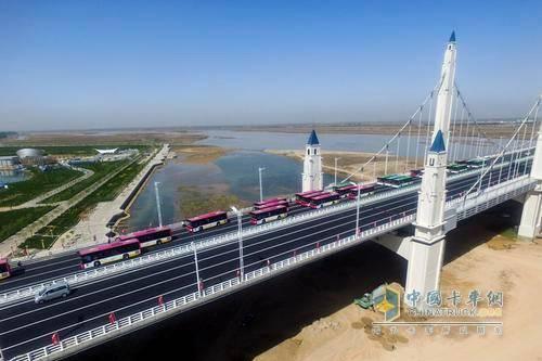 银川滨河大桥49吨以下货车可通行