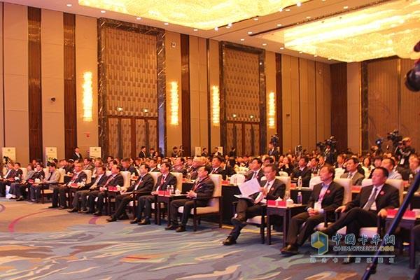 2017中国·四平专用车产业峰会现场