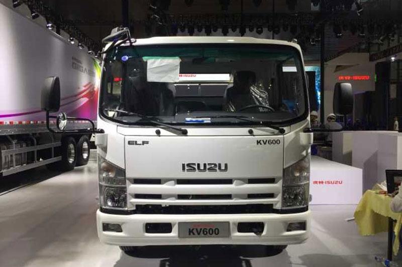 庆铃汽车 KV600 轴距3360 4×2单排 宽体箱式载货车(QL5043XXYA5HA)