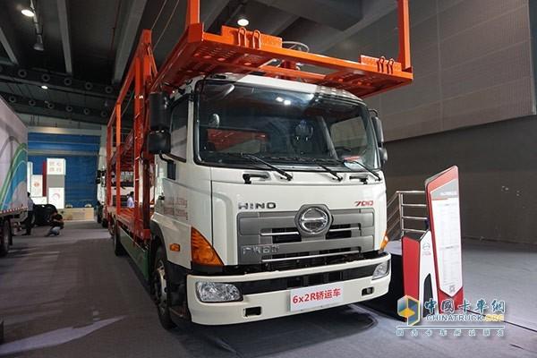 广汽日野6×2R轿运车