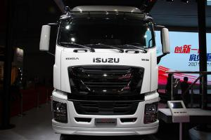 庆铃 GIGA巨咖 380马力 8×4 冷藏车(QL5310XLCU2VDHJ)