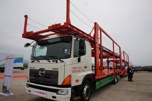 广汽日野 700系列重卡 265马力 6X2R 车辆运输车(底盘) J08E-WY (YC1200FR8JW5)