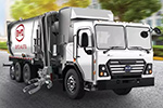 比亚迪发布北美首台纯电动环卫卡车