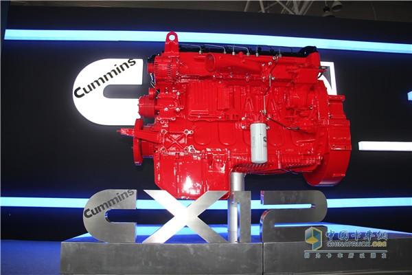康明斯X12发动机占据动力优势