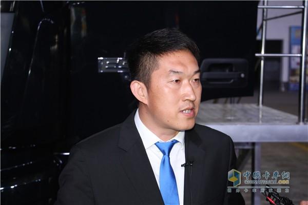 福田戴姆勒汽车营销公司副总经理徐向明