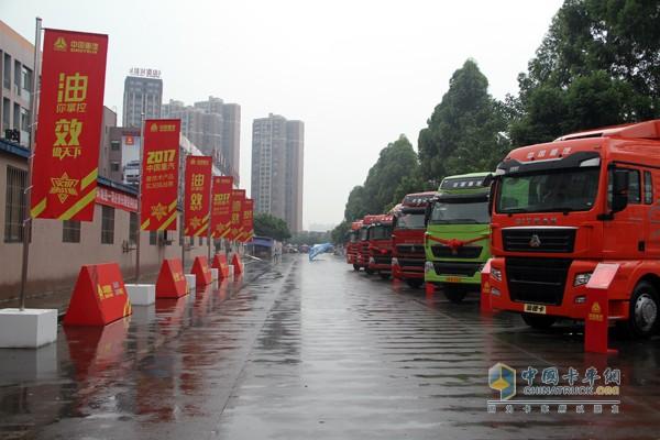 中国重汽曼技术产品悉数亮相