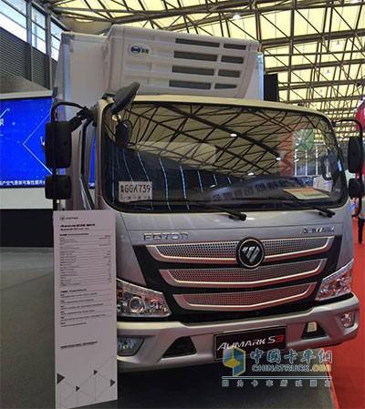 欧马可S3冷藏车