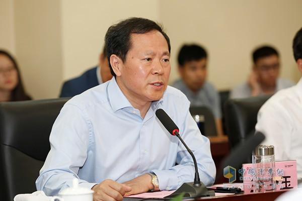 福田汽车集团党委书记、总经理王金玉先生讲话