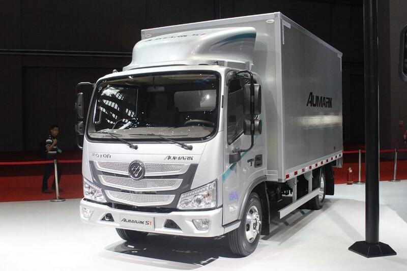 福田欧马可S1系 131马力 4.2米单排厢式轻卡(BJ1065VDJD6-F2D001)