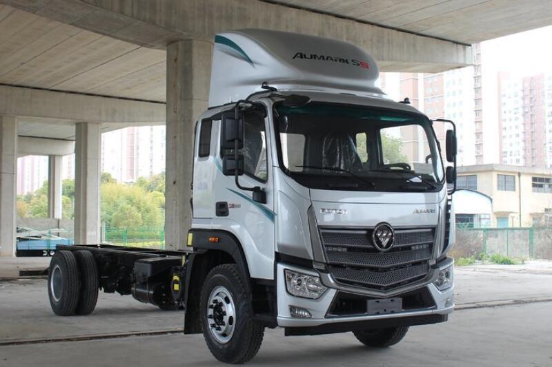 福田欧马可 S5 185马力 厢式载货车 单排