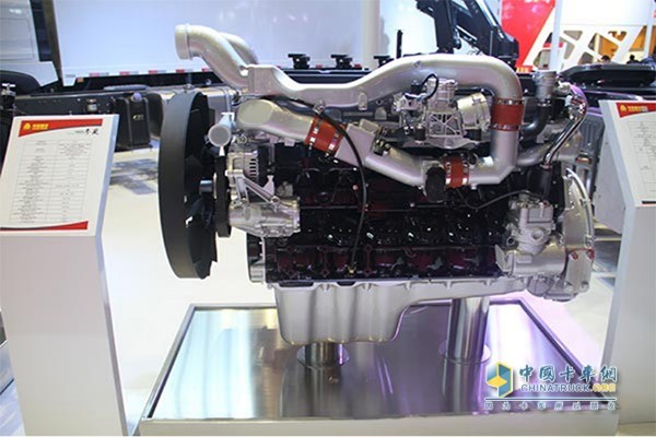 重汽曼技术MT13燃气机耗气量小,可靠性高