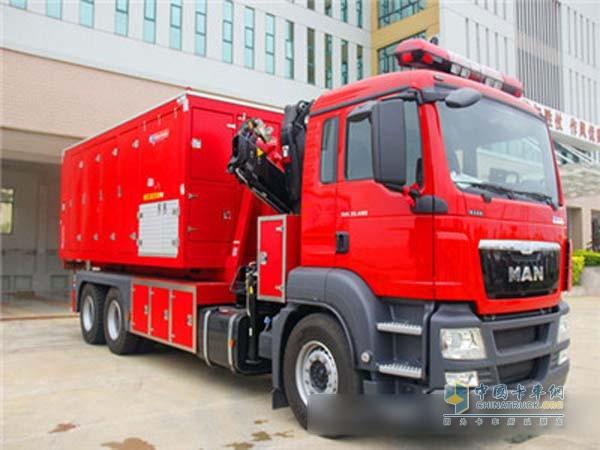 广西北海消防支队喜迎2700万元远程供水系统