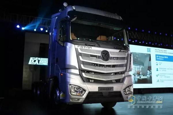 好产品,好政策,好服务 欧曼est超级卡车登陆西北获单300台图片