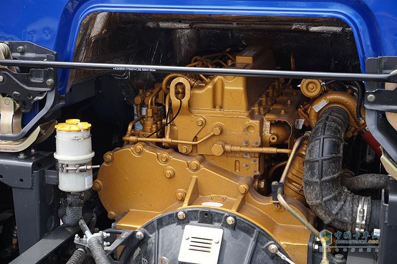 乘龙L3采用玉柴发动机