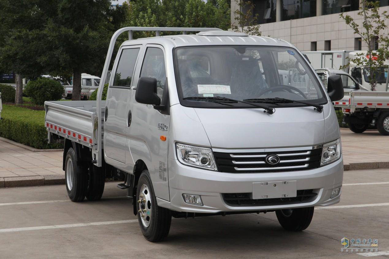 时代轻卡车报价_康瑞产品是 时代汽车旗下重要的产品系列之一,康瑞k2双排轻卡更是