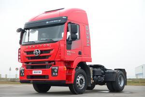 上汽红岩 杰狮M500重卡 标载版 320马力 4X2牵引车