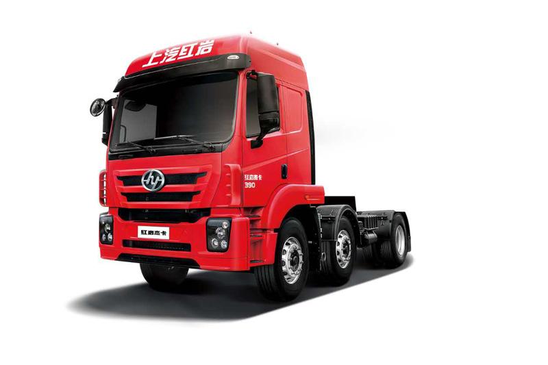 上汽红岩 杰卡C500重卡 标载版 390马力(9L机) 6×2牵引车
