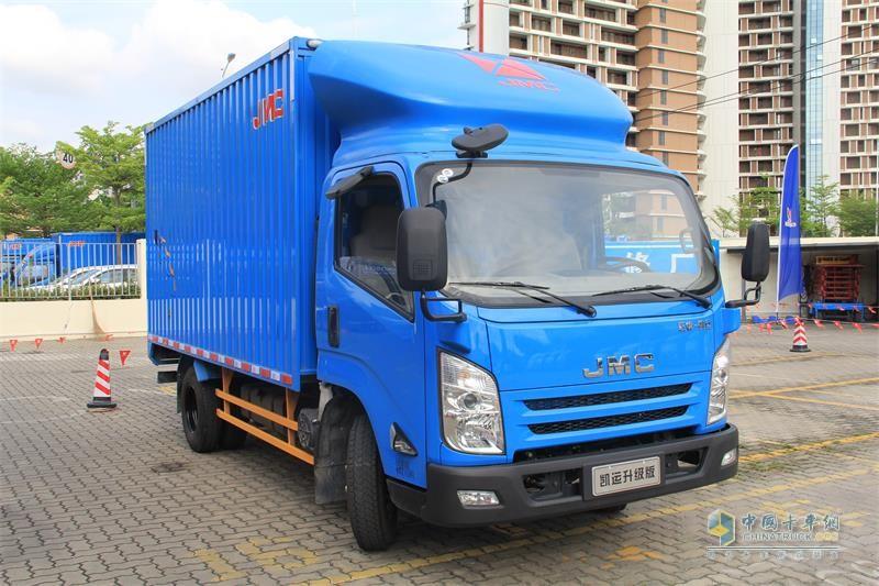 江铃汽车 凯运升级版 国五 112马力 气制动单排豪华款载货车