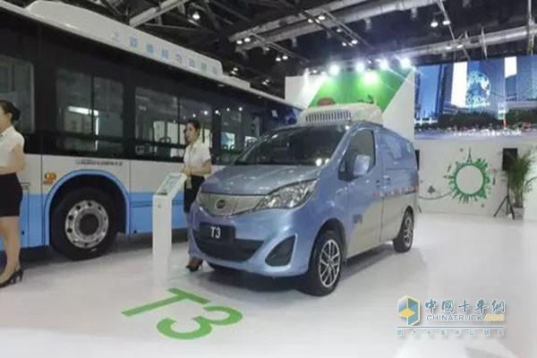 T3纯电动物流车